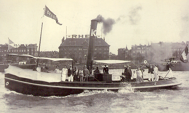 004   1919 Corry steamship