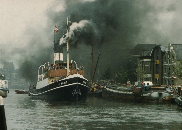 100 Years steam seagoing tugboat FURIE